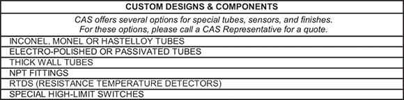 This image shows the custom tube and electric components for the CAST-X 500 fuel heater, which is available worldwide through purchase at Cast Aluminum Solutions.