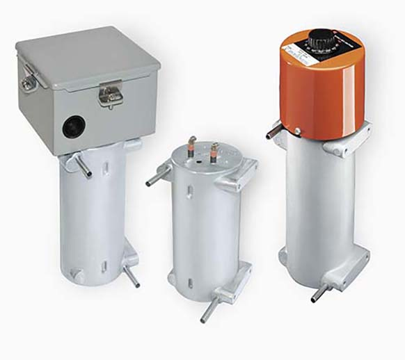 Customers use many CAST-X 1000 models as fuel and oil heaters because these industrial heaters are compatible with flammable liquids and gases.