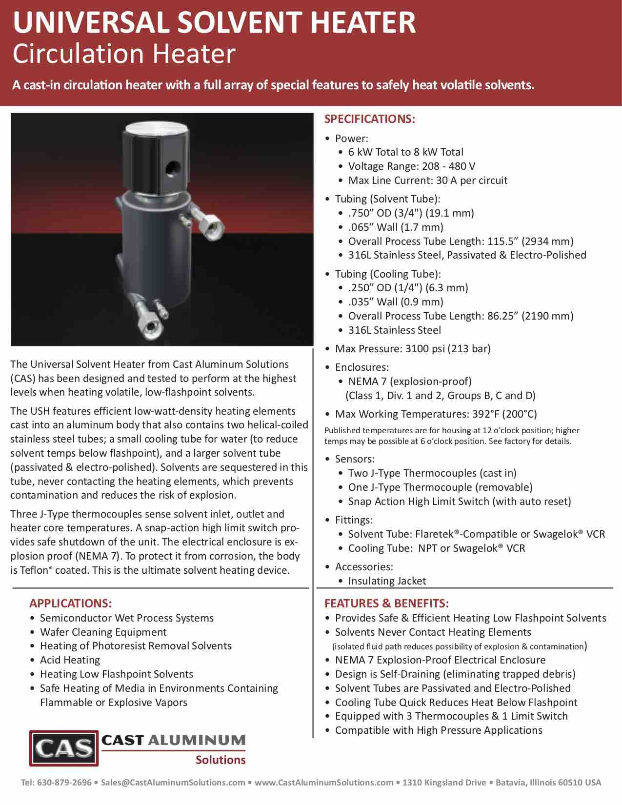 Universal Solvent Heater Technical Brochure Cast Aluminum Solutions (dragged)