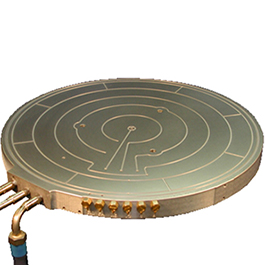 Cast Aluminum Solutions Manufacatures Bronze And Aluminum Wafer Heating Devices