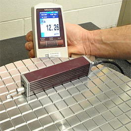 RA Surface Evaluation On Aluminum Product Manufactured By Cast Aluminum Solutions