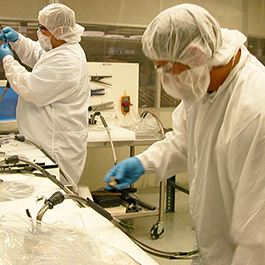Semiconductor Clean Room Assembly Of Manufactured Heaters At CAS